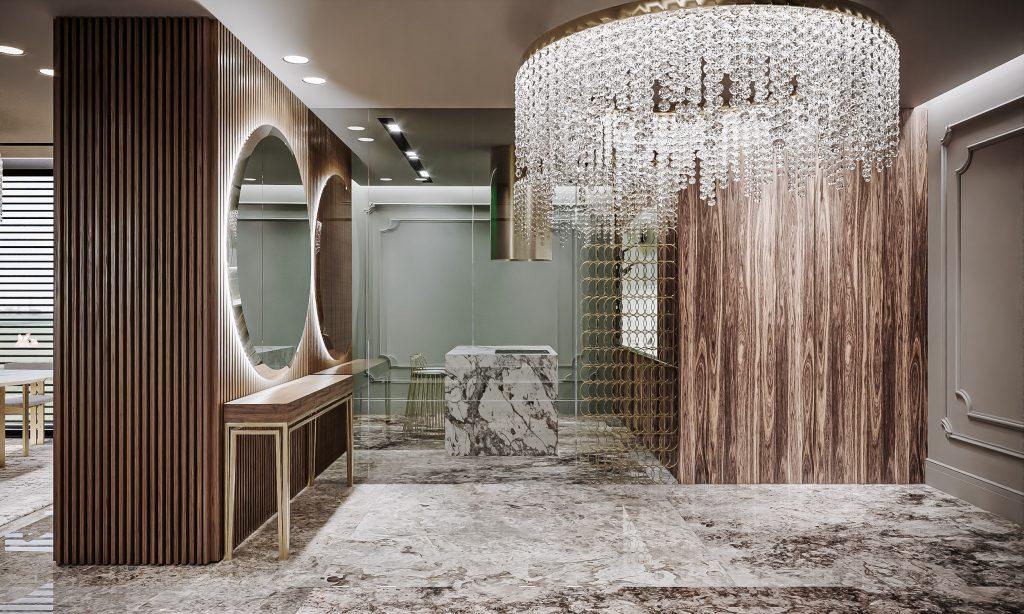 model design interior penthouse