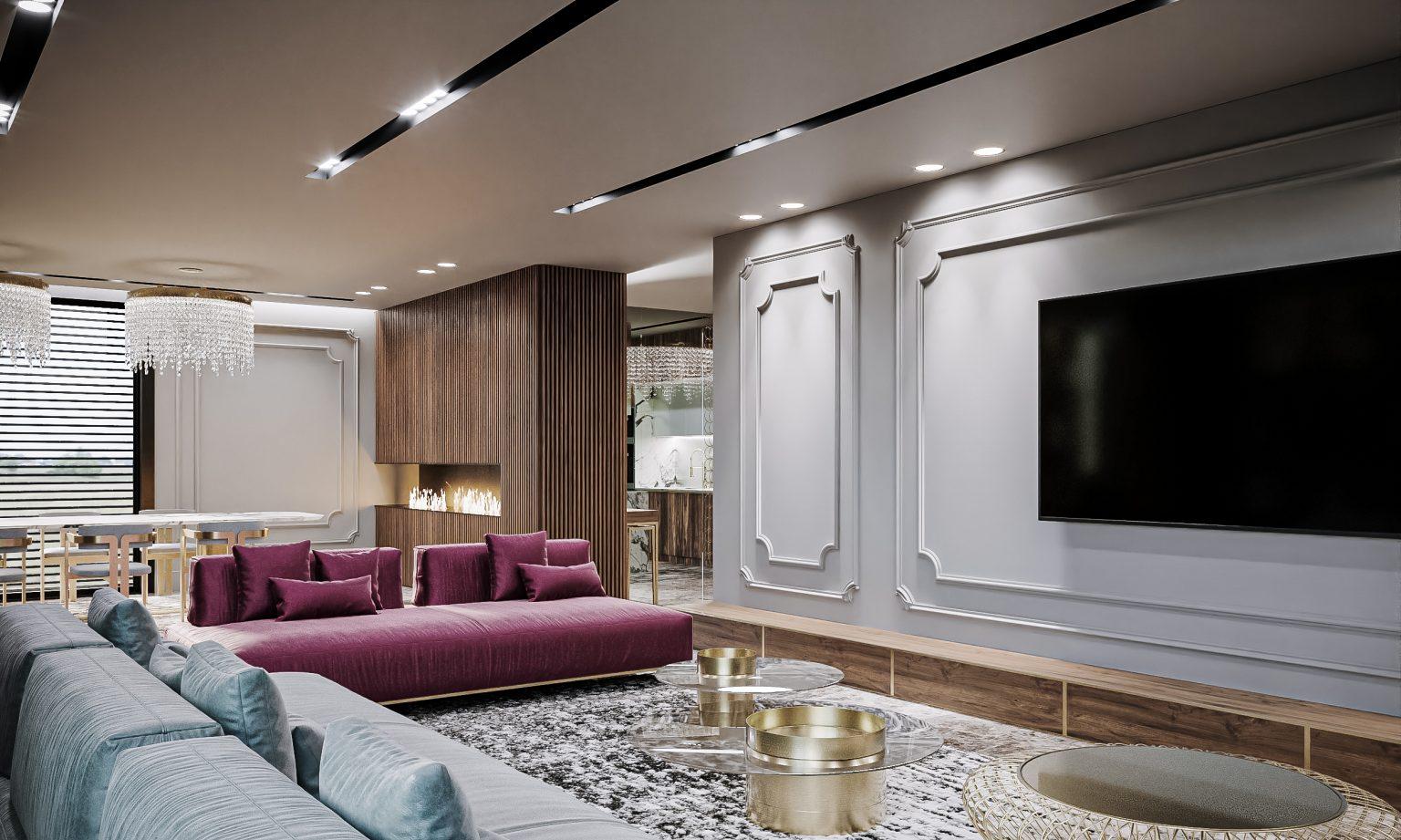 design penthouse apartament